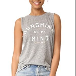 Spiritual Gangster Sunshine On My Mind Chakra Tank